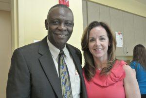 SalusCare Vice-Chair Larry Hart and Sen. Lizbeth Benacquisto
