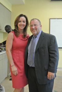 Sen. Lizbeth Benacquisto and SalusCare Board Member Scot Goldberg
